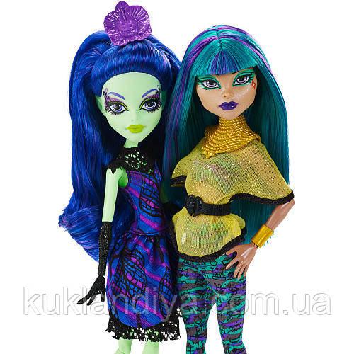 Monster High Нефера де Нил и Аманита Найтшейд Крик и сахар