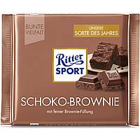 Шоколад Ritter Sport Schoko Brownie (Риттер Спорт), 100 г, фото 1