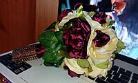 """Свадебный букет-дублер для невесты """"Крупные розы"""""""