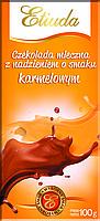 Молочный шоколад Etiuda c карамельной начинкой , 100 гр