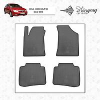 Коврики резиновые в салон Kia Cerato c 2004 (4шт) Stingray