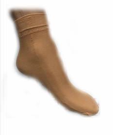 Капронові шкарпетки жіночі беж