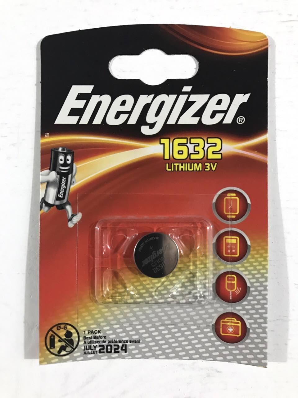 Дисковая батарейка Energizer Lithium Cell 3V CR1632