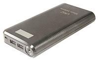 Портативное зарядное устройство Power Bank UKS 30800 mAh с дисплеем, фото 2Портативное зарядное устройство Po