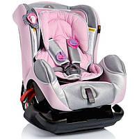 Детское автокресло Bellelli Leonardo, группа 0+/1 (0-18 кг), цвет ярко-розовый