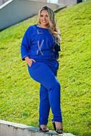 Спортивный костюм женский большого размера, фото 1