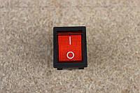 Кнопка переключатель УСИЛЕННАЯ [на сварочный инвертор] с подсветветкой 3pin 25A 250V[на 6 кле