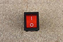 Кнопка переключатель УСИЛЕННАЯ [на сварочный инвертор] с подсветветкой 3pin 25A 250V