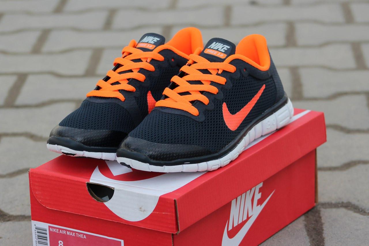 b35b0428f9e3 Женские кроссовки летние Nike Free Run 3.0 синие - Интернет-магазин Дом  Обуви в Хмельницком