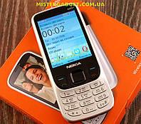Мобильный телефон Nokia 6303+ Серебристый. Экран 2.8'' GPRS копия Нокия 6303 MicroUSB