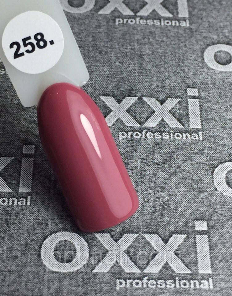 Гель-лак OXXI Professional №258, 8 мл