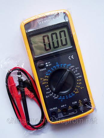 Цифровой мультиметр Тестер DT-9502A, фото 2