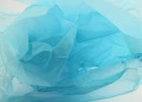 Тишью декоративная бумага, голубая 1 лист (50*70 см)