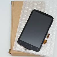 Дисплей для HTC S510e Desire S G12 + touchscreen чёрный с узким шлейфом