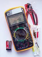 Цифровой мультиметр тестер DT 9208A