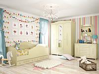 Детская комната Ассоль Премиум Санти Мебель бежевый