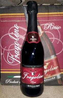 Вино игристое красное Fragolino Novellina Rosso (ФРАГОЛИНО НОВЕЛЛИНА) 0.75L, фото 2