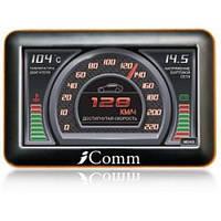 Автомобильный коммуникатор IComm i-510 бортовой компьютер и GPS навигатор