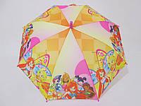 Подростковый зонт для девочек  5-10 лет Winx (Винкс)