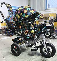 Велосипед триколісний TILLY Trike T-363-4 СІРИЙ