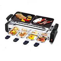 Електрогриль барбекю для дому та на природу Electric and barbecue grill HY9099А , фото 1