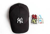 Бейсболка New York. Кепка NY с  велкро липучками NY. Большой выбор бейсболок.
