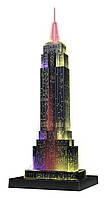 Объемный пазл 3D Ravensburger - Небоскреб Эмпайр Стейт Билдинг - ночная версия