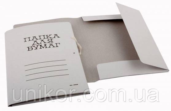 Папка картонная на завязках 0,4 мм. Украина