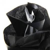Тишью декоративная бумага, черная 1 лист (50*70 см)