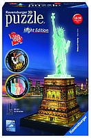 """Пазл 3D """"Статуя Свободы - ночная версия"""", Ravensburger"""