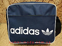 Сумка планшет adidas Оксфорд  ткань(только ОПT)Сумка для через плечо