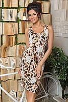 """Женское летнее платье """"Леопард"""""""