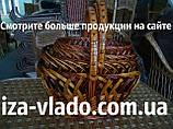 Великодні кошики плетені з лози