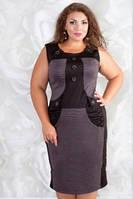 Платье женское большого размера, фото 1