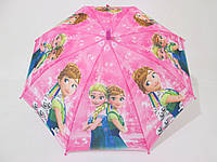 """Подростковый зонт для девочек  5-10 лет """"Frozen"""" (Холодное сердце)"""