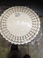 Салфетки бумажные ажурные 32 см.100шт.Производство Венгрия