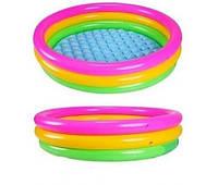 Детский бассейн надувной Intex 57412 радуга