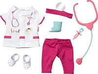 Костюм Врача для куклы Baby Born плюс аксессуары Zapf Creation 821077