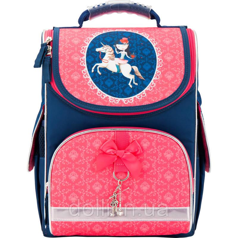 d4538c9cf535 Рюкзак школьный каркасный (ранец) 501 Secret wish K17-501S-3 Kite ...