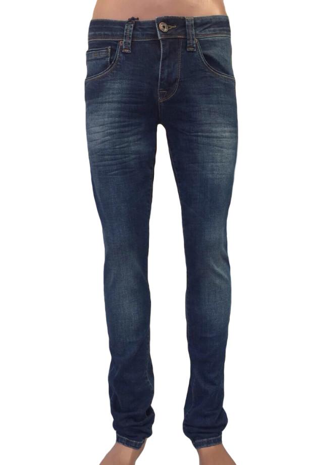 Мужские джинсы зауженные 16-163