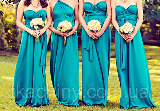 Платья подружек невесты 14 цветов