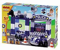 """Конструктор Ecoiffier """"Скоростное авто. Полицейский участок"""", 57 элем. (003081)"""
