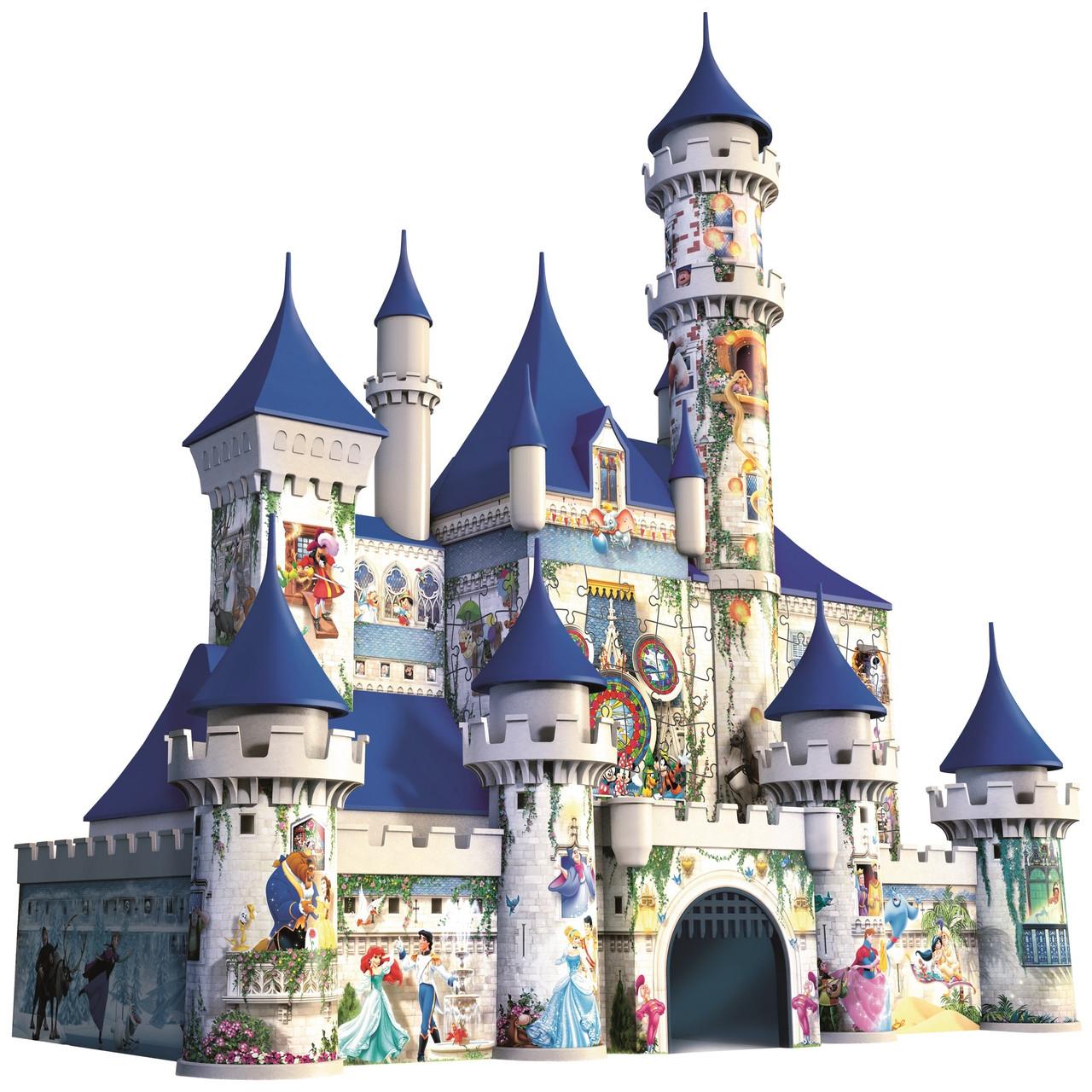 Об'ємний пазл 3D Диснеївський замок Ravensburger (RSV-125876)
