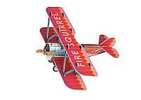 Картонная модель Самолётик 404-1 УмБум, красный