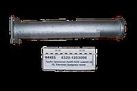 Труба приемная глушителя УРАЛ-4320,5557 дв.КАМАЗ-740 задняя правая