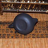 Чайник глиняный черный, 130 мл, фото 9