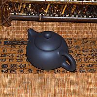 Чайник глиняный черный, 130 мл