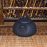 Чайник глиняный черный, 130 мл, фото 4