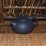 Чайник глиняный черный, 130 мл, фото 5
