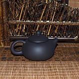 Чайник глиняный черный, 130 мл, фото 7